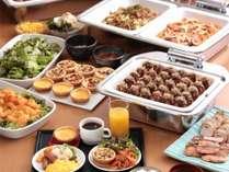和洋17種類の朝食バイキング