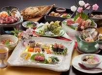 3月~5月【熊本の味が盛りだくさん】馬刺しや馬肉の溶岩焼きなど、厳選食材をご堪能!肥後おもてなしプラン