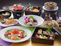 2016夏【メイン料理が五点もある、よくばりなプラン】彩り鮮やかに旬の味覚を堪能、阿蘇五岳プラン☆