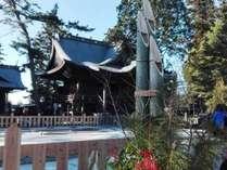 阿蘇神社正月の様子(2017年1月撮影)