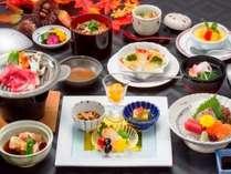 2018秋ベーシック草千里会席料理,熊本県,かんぽの宿阿蘇