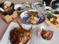 【うれしい特典付!6月・7月期間限定プラン】鯛のかぶと煮、季節のお造り、海鮮鍋が付いた!夏得プラン☆