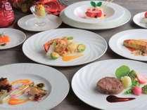 【Xmas2021】彩り鮮やかなクリスマス洋食ディナー&12時チェックアウト(夕食付)