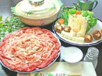 リーズナブルな寄せ鍋プラン☆お腹いっぱいお召し上がりください(^^♪