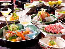 四季を彩る食材が料理長の手によって生まれ変わる「旬懐石」