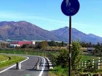蒜山高原自転車道と、三木ヶ原牧場です。