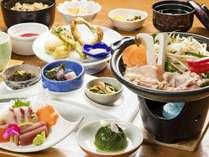 桜島どり特製味噌焼き陶板会席プラン