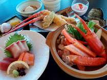 季節の鍋(カニ鍋)