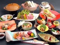 選ぶメイン料理 ◆秋田県産和牛陶板焼き◆冬季限定の和食会席