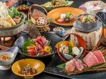 <迷ったらこれ!>【秋田錦牛&比内地鶏】~2つのブランド肉を食べ比べ~地元の食の魅力と温泉を楽しむ