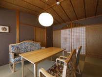 離れ特別室:落ち着いた静寂な佇まいの中で、心落ち着く悠々とした時間がお過ごしいただけます。