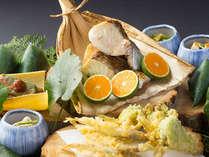 ゆふいんの旬:四季に耳を澄まし、食材の囁きを知り、料理の声を届ける 創作懐石料理。