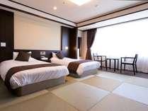 和室ベッド仕様:和モダンルーム(浴槽なし・トイレ付)