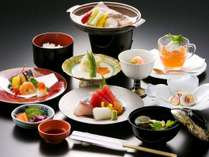 【銀鮭の味噌漬け陶板焼きなど全10品】和楽御膳(秋)