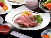 【茨城の常陸牛をメインにお造りも添えた欲張りプラン!】常陸牛ステーキ御膳(秋)