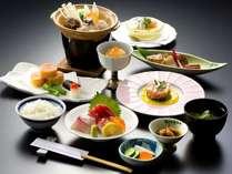 【牡蠣と冬野菜の味噌鍋など旬の味わい料理全11品】和楽御膳(冬)