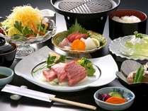 【茨城の常陸牛をメインにお造りも添えた欲張りプラン!】常陸牛ステーキ御膳(春)