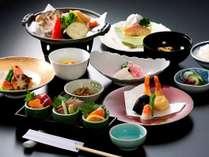 【豚と鮭のロール巻 味噌ソースなど秋の味わい全10品】和楽御膳(秋)