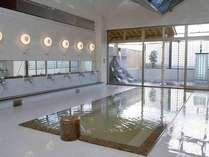 *アヴァンセふくち内の大浴場。