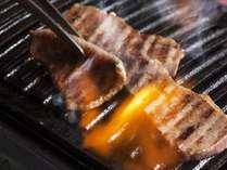 夕食は上質なお肉の焼肉がオススメ