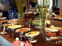 ご朝食はブリーズベイホテル最上階のビュッフェをお楽しみ下さい☆