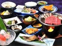 飛騨の恵まれた自然を活かした、四季折々の懐石風料理をお愉しみ下さい。