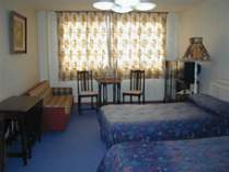 アンテークツイン・海のお部屋です。1930年代のイギリスのアンティーク家具が沢山有ります。