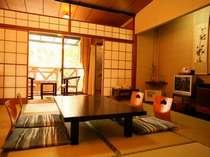 【お部屋】本館/足湯付客室 和室8畳 定員4名