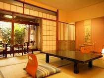 【お部屋】本館/露天風呂付客室 和室8畳 定員4名