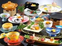 今が旬白浜名物クエを新食感【焼きクエ】と定番ほっこり鍋【クエ鍋】で贅沢にクエの味くらべ会席プラン