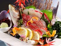 【お料理】地魚姿造り 一例