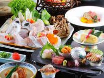 自慢の紀州本クエを贅沢に使い、熊野牛と海の幸を豪快に食べ尽くす特別プラン