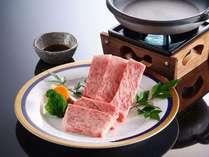 【お料理】熊野牛陶板焼き