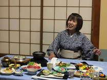 【サービス】お部屋食事でゆったり和やかな時間♪