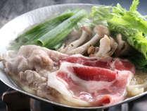 黒豚の霙鍋柚子胡椒風味