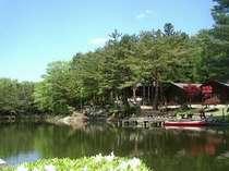 映山湖ガーデンとログハウスで24時間ステイプラン