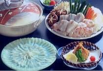 ◆答志島でとれた天然ふぐ料理プラン+伊勢海老とアワビの活造り★ 鳥羽の離島「答志島」へプチ船旅!