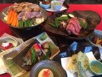 「飛騨牛朴葉みそ&鶏ちゃん」&飲み放題90分付の2種類の郷土料理和会席プラン♪