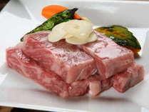★料理長、店主厳選の和牛の陶板焼に舌鼓いただきご堪能いただきます