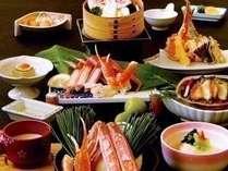 ★★いこいこ!おまかせ懐石【鮑&浜茹ずわい蟹半身など】をデザートまでお手軽におたのしみいただきます