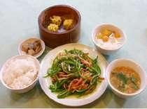 中国料理 夕食セット