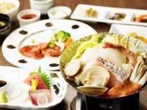 【味覚プラン】温泉とお食事でポカポカ♪魚介たっぷりの海鮮鍋を堪能♪美味しい箱根旅♪