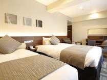 デラックスツイン!29平米の3名様でも充分な広さです♪,神奈川県,ホテルウィングインターナショナル横浜関内