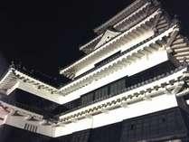 松本城ライトアップ1