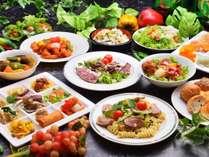 【バイキング】《夕食料理イメージ》和食、洋食、中華とバラエティ豊かなバイキング