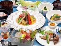 奈良の滋味を盛り込んだ豪華季節会席(イメージ)
