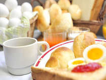 ジャムにマーガリンにお好きな味を付けてお召し上がり下さい♪卵料理にもピッタリあいますよ!
