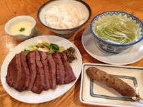 「味の牛たん喜助」グリーンチェーンオリジナル定食