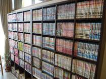 漫画図書館オープン!2000冊の品揃え♪