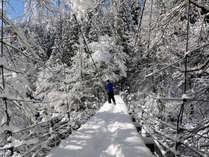 <1/18-3/10限定/2食付>真冬の秘境・秋山郷 豪雪の里山暮らしを体験する限定プラン
